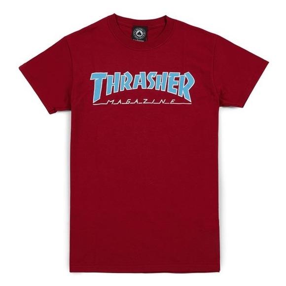 d941f7b4472d Thrasher Shirts | Magazine Tshirt Cardinal Red S | Poshmark